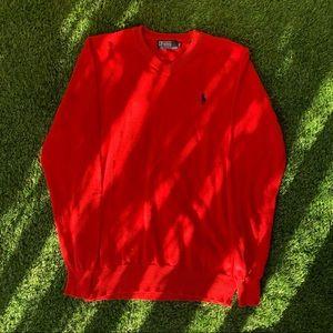Red Ralph Lauren Jumper